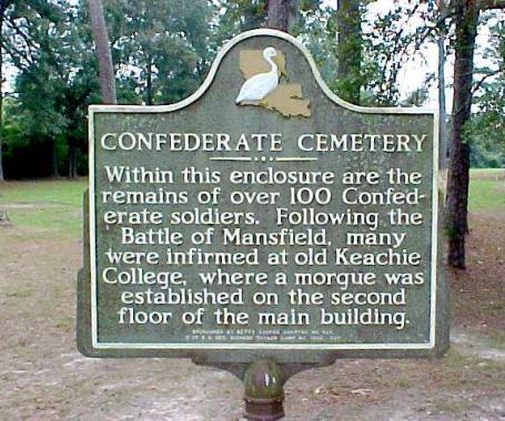 Civil War Memorial Cemetery - DeSoto Parish