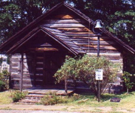 1843 Log Courthouse - DeSoto Parish