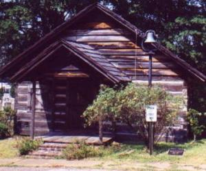 1843 Log Courthouse - DeSoto Parish