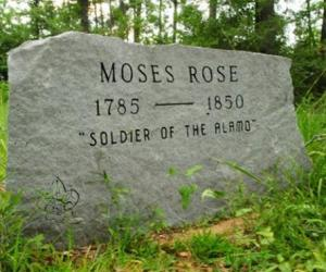 Moses Rose Grave - Ferguson Cemetery DeSoto Parish